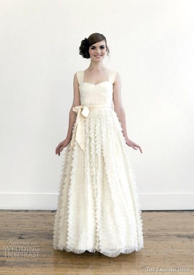 The English Dept 2012 Wedding Dresses | Wedding Inspirasi