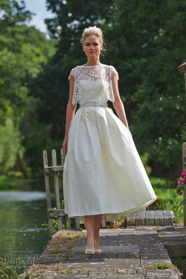 Stephanie allin couture 2016 wedding dresses love for Winter tea length wedding dresses