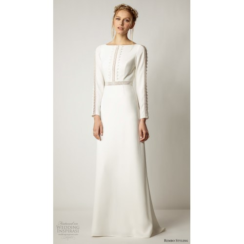 Medium Crop Of Simple Wedding Dress
