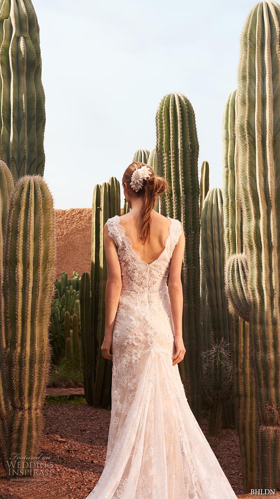bhldn spring 2017 bridal sleeveless v neck full embellishment elegant sheath wedding dress open v back sweep train (eliana) bv