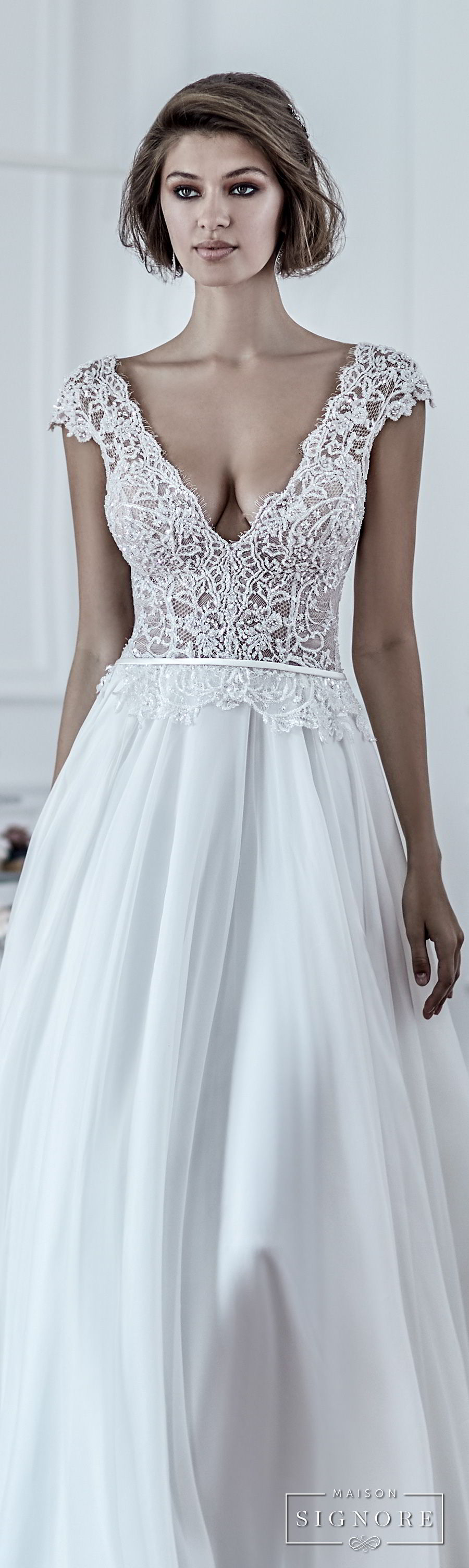 Maison Signore\'s Stunning 2018 Wedding Dresses – OBSiGeN