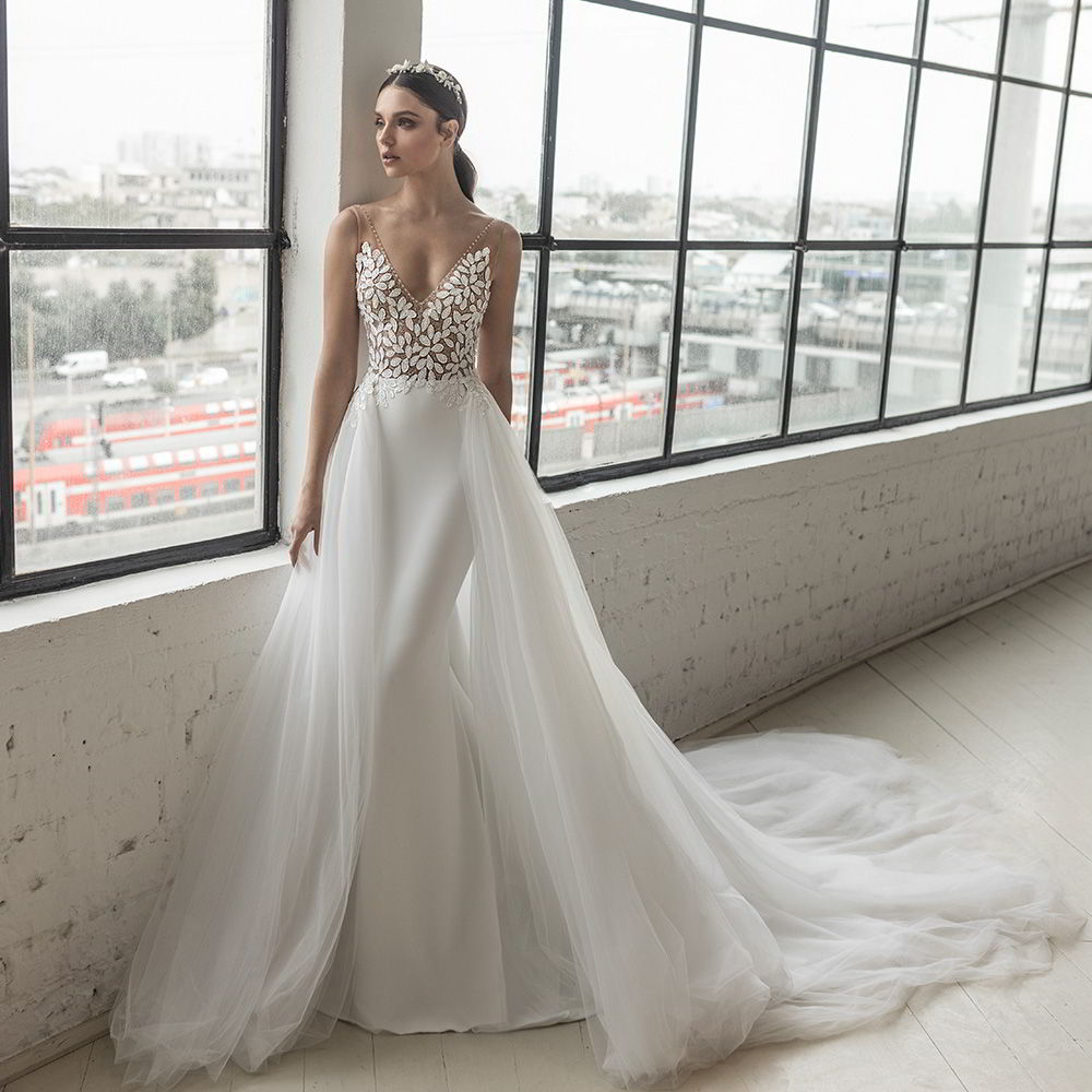 julie vino 2019 romanzo bridal wedding inspirasi featured wedding gowns dresses and collection