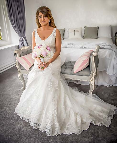 The Bride Stirk House Hotel