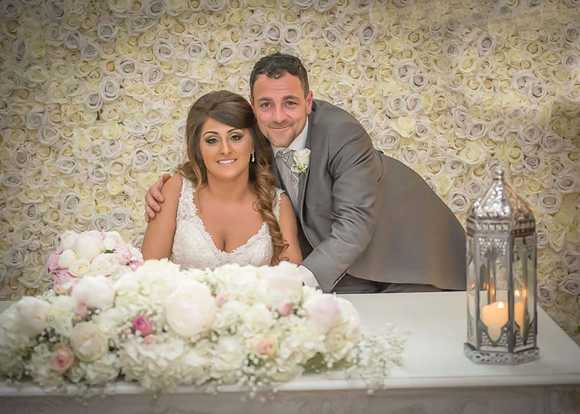 The happy couple Stirk House Hotel