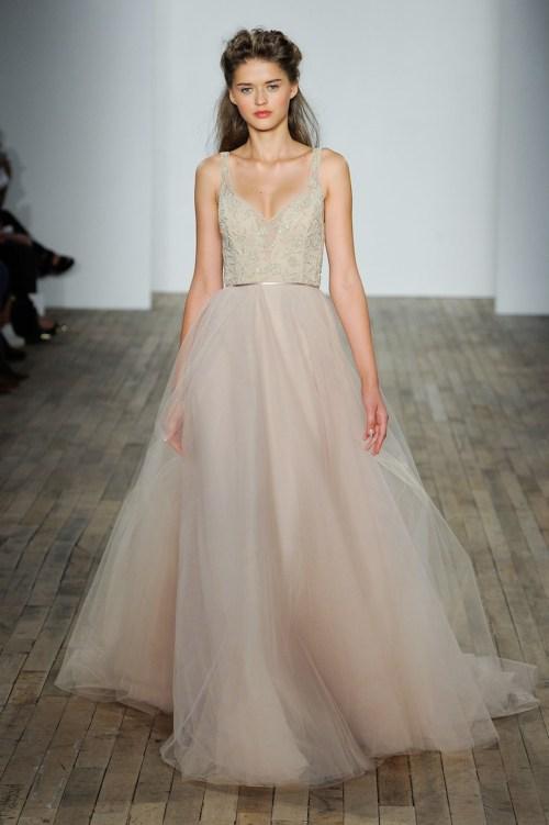 Medium Of Pink Wedding Dresses