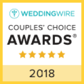 Love the One You're With - Wedding Officiant Services WeddingWire Couples Choice Award Winner 2018