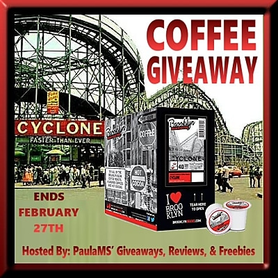 Brooklyn Beans Cyclone Coffee Giveaway
