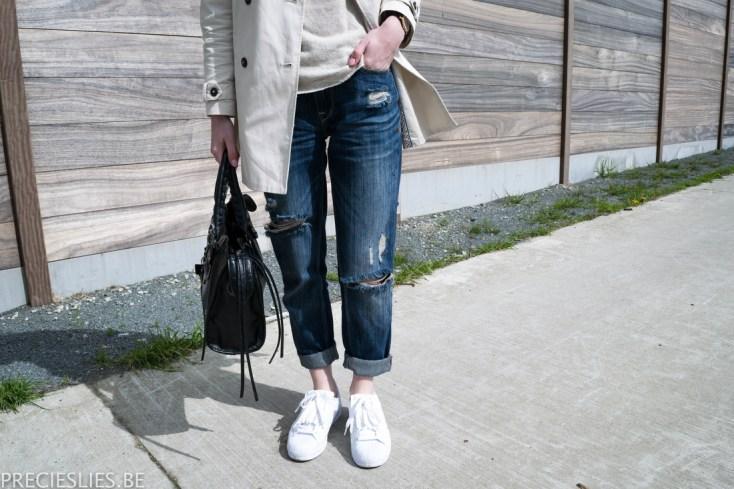Outfit | Boyfriend jeans // Precies Lies