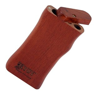 Wooden rosewood one-hitter dugout taster smoking box from RYOT