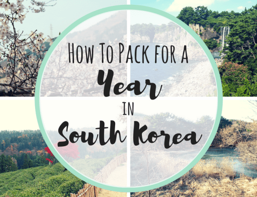 How to Pack for a Year in South Korea