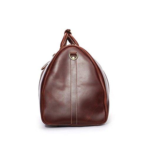 leathario herren ledertasche weekender retro weekender bag. Black Bedroom Furniture Sets. Home Design Ideas