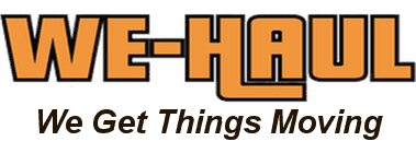 We-Haul Movers Logo