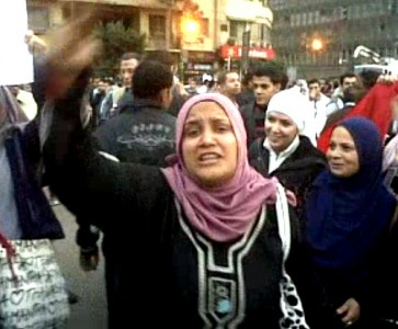 >The uprising in Egypt: Not all about the menz