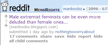 >Hello, Men's Rights Redditors!