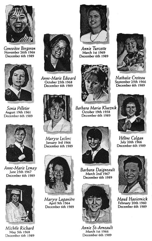 >Remembering the Montreal Massacre