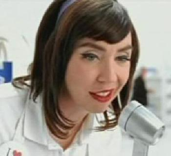 "Flo the Progressive Insurance gal: a ""symptom of a decaying society."""