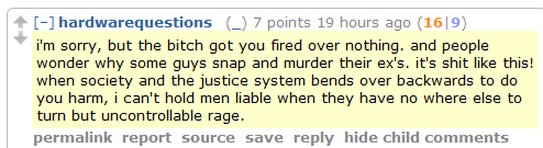 Men's Rights Redditors: Guys who kill their exes — who can blame them?