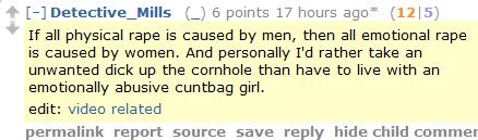 Rape, mansplained at last. Thanks, anonymous dude on Reddit!