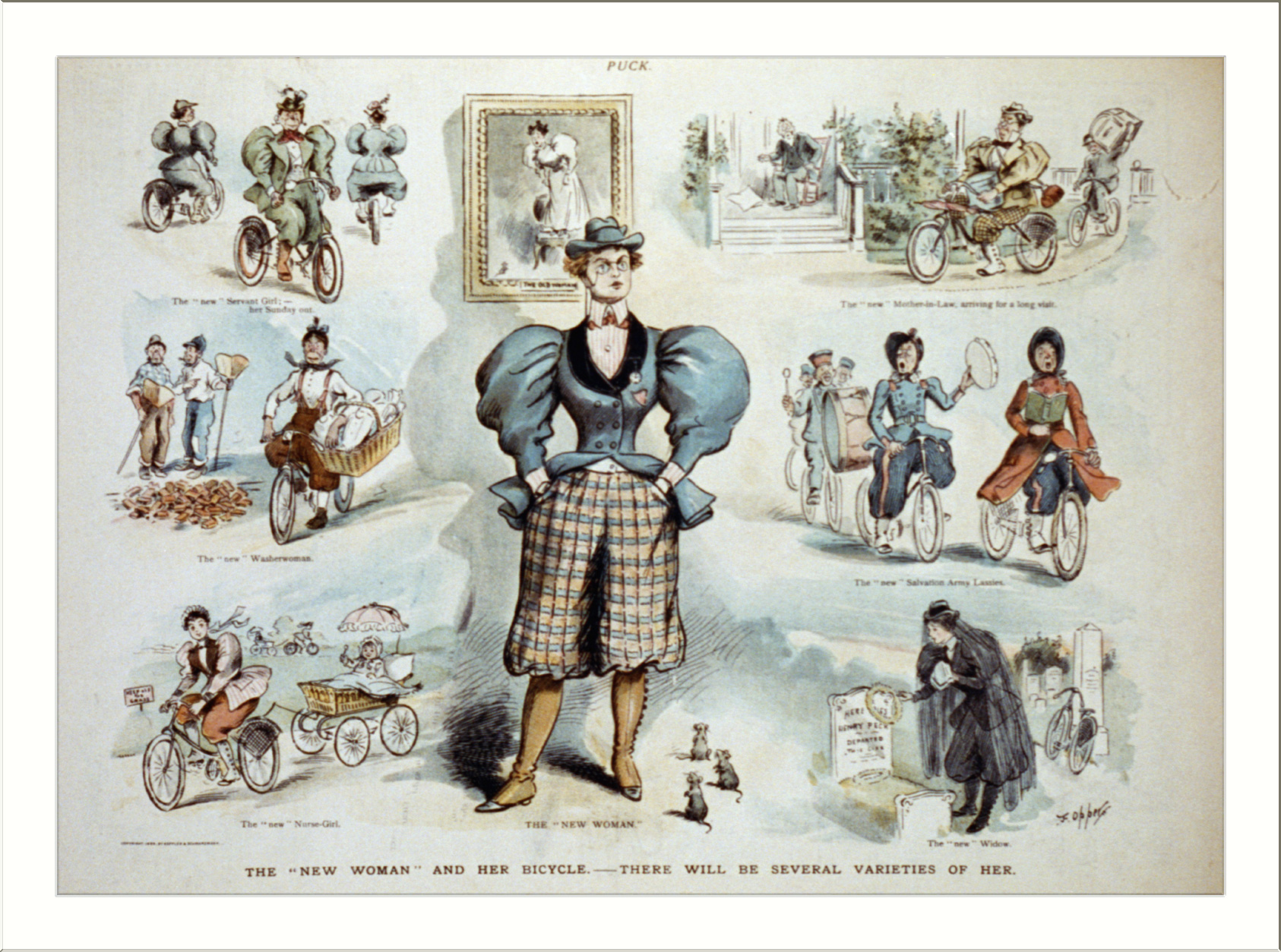 Bicycle-riding ladies and other threats to manly order