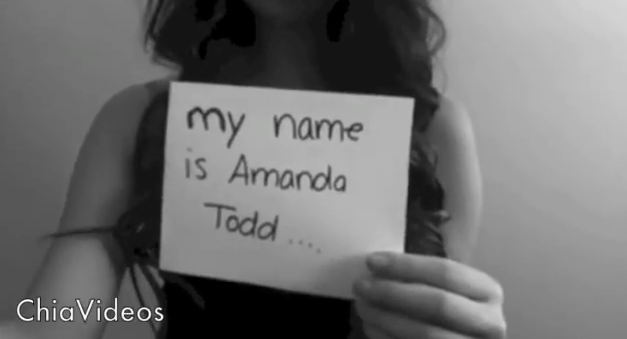 The Amazing Atheist spits on the memory of Amanda Todd [TW: bullying, sexual shaming, self-harm, suicide]