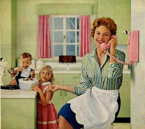 Evil single mom neglecting her kids