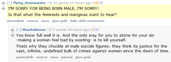 Today in Straw Feminism: Why they chuckle at male suicide figures — explained!