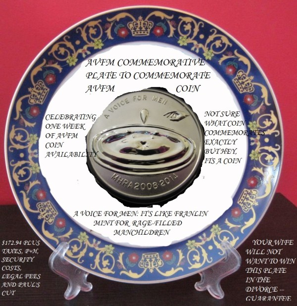 No, that really is a picture of AVFM's commemorative coin in the middle there.