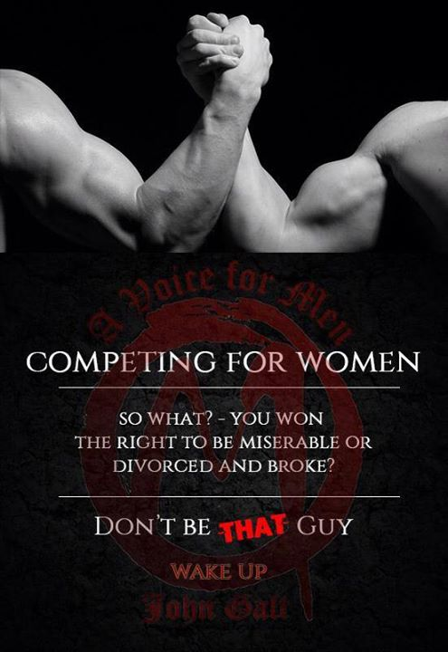 MRA Graphix Challenge! Design a meme more misogynistic than this one from A Voice for Men
