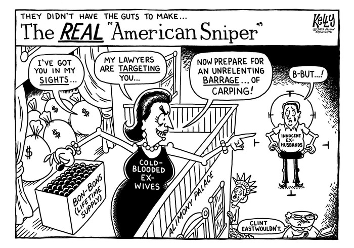 American Carper: The Onion's fake editorial cartoonist channels Men's Rights Activists, again