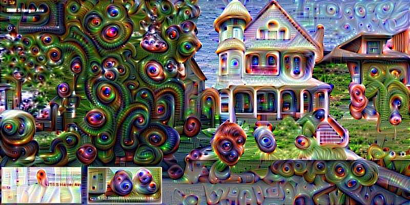 Starting Monday, Google will be replacing Street View with Deep Dream View