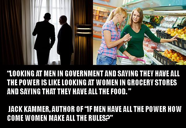 Women shopping for groceries secretly run the world, MRA suggests in incomprehensible memes