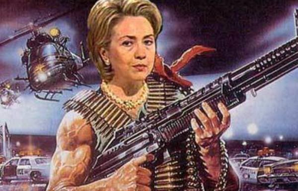 Hillary Clinton: Man-murdering warmonger?
