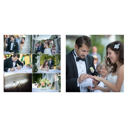 Medium Crop Of Wedding Photo Album