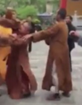Fighting monk