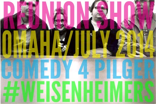Comedy 4 Pilger at the Slowdown July 27th