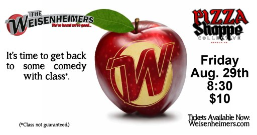 Weisenheimers Improv Comedy - August 29, 2014 - 8:30pm - $10