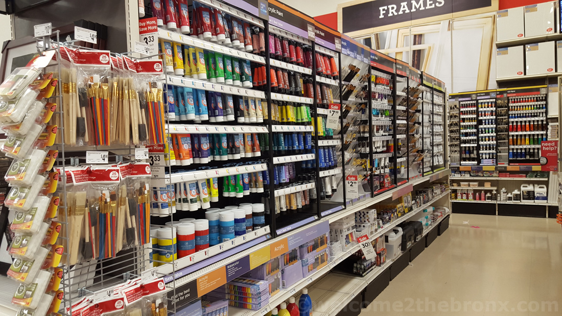 Arts crafts store michael s reopens at bronx terminal for Arts and crafts michaels
