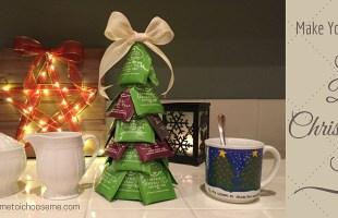 Tea Bag Christmas Tree