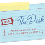 Ask The Desk: Stamp Pads and Federal Supply Service Notebooks