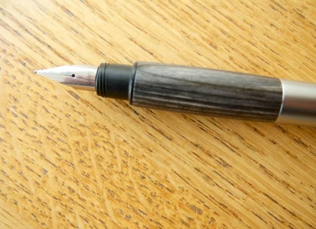 Lamy Accent Fountain Pen nib & grip section