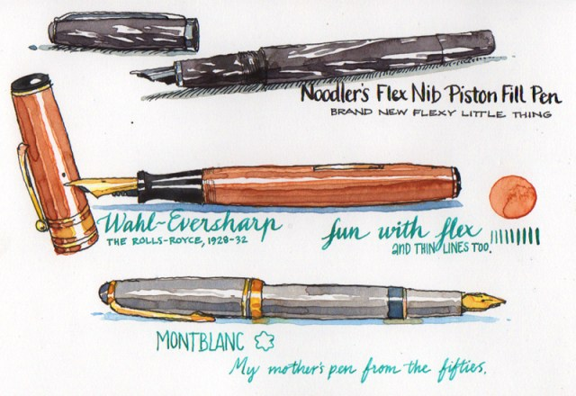 fountainpens drawing