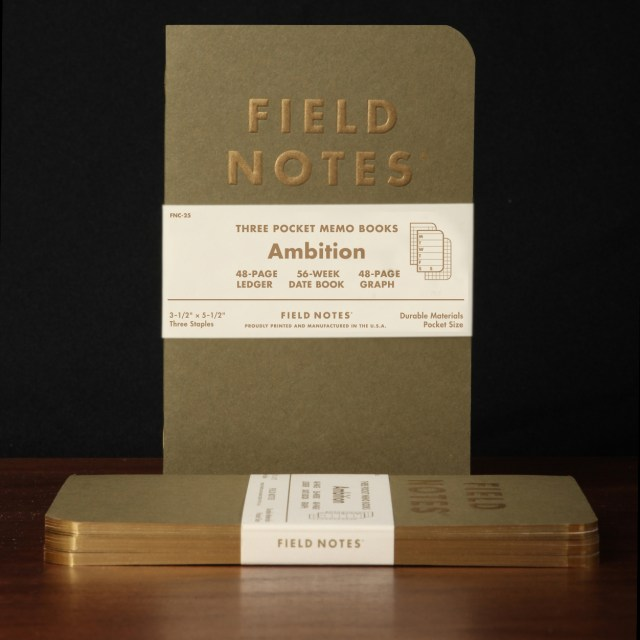 Field Notes Ambition cover