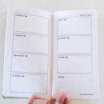 DIY Planner for the Midori Traveler's Notebook