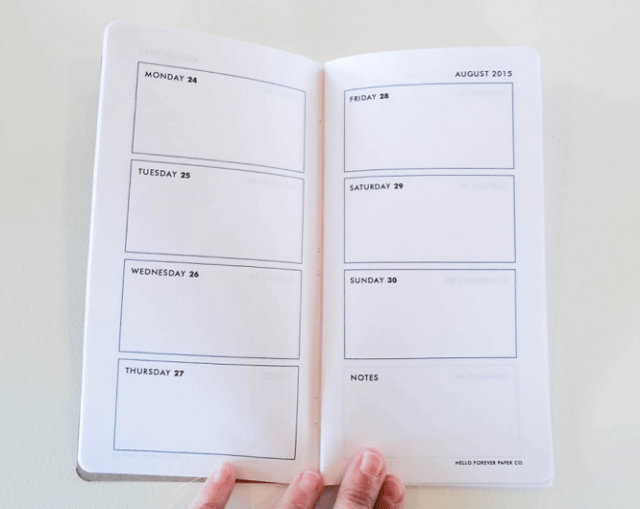 A full how-to tutorial for making the notebook is available on the Hello Forever blog.