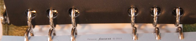 Ring comparison FC vs Filofax