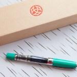 Review: TWSBI Diamond 580 in Christmas Green