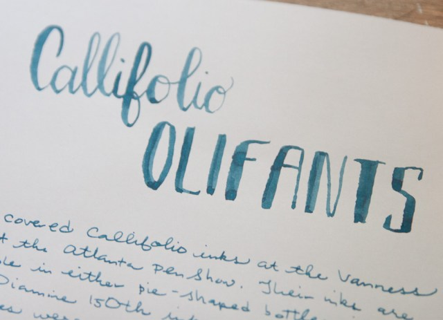 Callifolio Oliphants