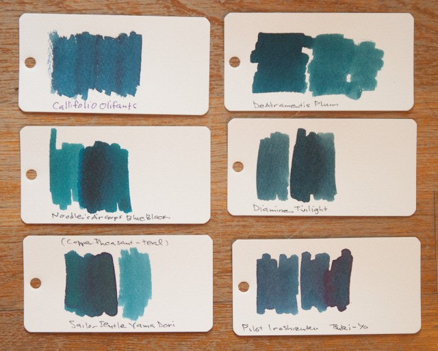 Callifolio Oliphant ink comparison