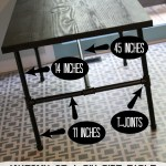 Desk Set: DIY Pipe Desk
