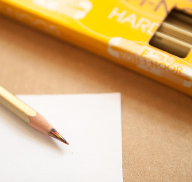 Kohn-i-noor Special MAGIC Colored Pencil writing sample